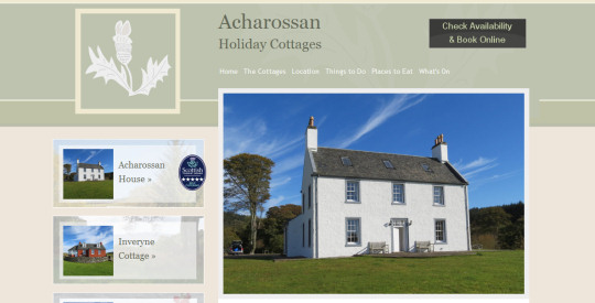 Acharossan Holiday Cottages